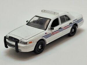 Greenlight 2008 Ford Crown Victoria Detroit Police Preproduction Deco Sample