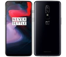 "OnePlus 6 64GB Mirror Black A6000 (FACTORY UNLOCKED) 6.28"" 16MP 6GB RAM"
