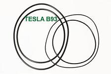 SET RIEMEN TESLA B 93 TONBANDMASCHINE EXTRA STRONG FABRICKFRISCH NEU B93 B-93