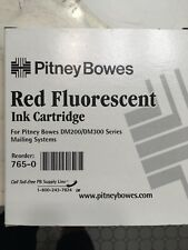 Pb Pitney Bowes Postage Machine Red Ink New 765-0 Dm200/Dm300