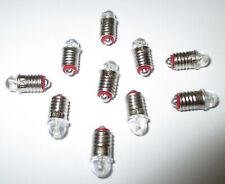 LED Spare Bulbs for House Lighting E5.5 16-24V - 10 New
