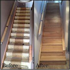 12x Solid Oak Stair Cladding  -  100% OAK >
