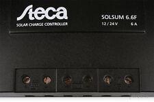 Solarladeregler Steca Solsum 6.6F 12V / 24V, 6A Laderegler charge controller