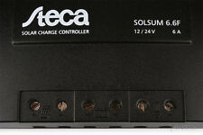 Solar de carga regulador Steca solsum 6.6f 12v/24v, 6a regulador de carga controlador Charge