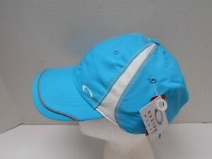 Oakley Women's Reflective Running Athletic Moisture Wicking Hat Cap W/ Pocket AQ