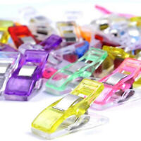 20X Wonder Clips Colorful For Quilting Fabric Craft Knitting Sewing Crochet