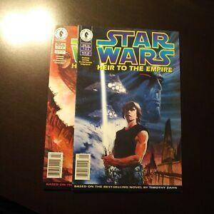 STAR WARS HEIR TO THE EMPIRE #1(Dark Horse 1995) First Thrawn/Mara Jade Newss
