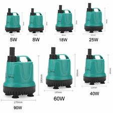 Suction Pump For Aquarium Submersible Water Pumps Filter Fish Tanks Accessories