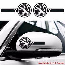 PEUGEOT Custom Wing Mirror Body Decals Stickers Sport 106 Rcz Gti 108 208 206
