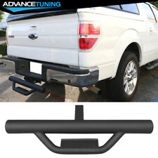 Universal Textured Hitch Step Bumper Guard W/ 2Inch Receiver 31.5Inch Long Black