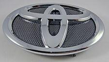 09-13 Toyota COROLLA Front Grille Badge Hood Emblem Black + Chrome #75312-02050