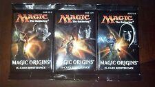 3x MTG: Origins SEALED Booster Packs MtG Draft Pack Magic the Gathering Cards