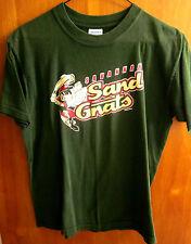 SAVANNAH SAND GNATS logo Georgia T shirt youth XL baseball beat-up size 18-20