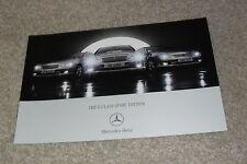 Mercedes C Class Sport Edition Brochure 2006 - UK Market Special Edition