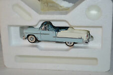 Franklin Mint 1955 Chevrolet convertible in 1:43 Scale superb mint