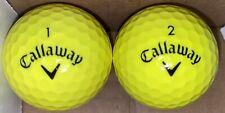 Callaway Supersoft Neon Yellow Golf Balls