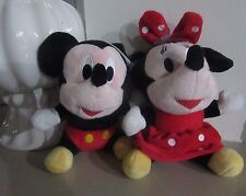 20cm Disney Mickey Mouse Soft Plush Stuffed Toy Child Birthday Suction Cup Car