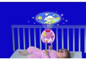 Baby Vtech Lullaby Sheep Cot Light Mobile Projector Nighttime Musical Melodies