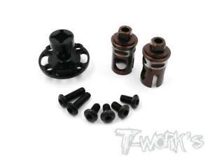 T-Work's Metal Front Spool for Yokomo BD7'15 HPI Racing Pro 5 1/10 RC Car Parts