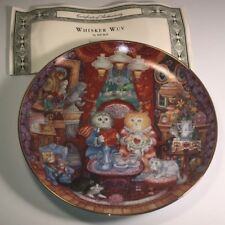 Franklin Mint Collectors Plate Cats Bill Bell Heirloom Whisker Wuv Love Kittens