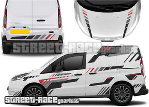 Ford Transit Connect FULL 005 racing decals stickers graphics vinyl