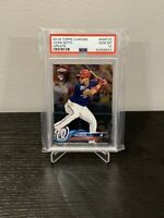 2018 TOPPS CHROME UPDATE #HMT55 JUAN SOTO ROOKIE RC PSA 10 GEM MINT 🔥📈
