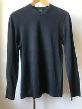 Very Cool vintage JIL SANDER early collection long sleeve high v neck t shirt S