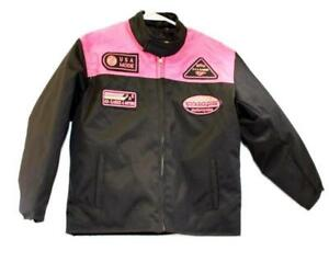 motorcycle kids jacket pink/black Usa mode motor usa classics size 12