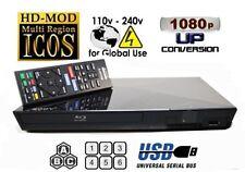 Sony BDP-S1200 MULTI REGION ALL REGIONS Free ABC DVD 1-8  Blu-Ray Player