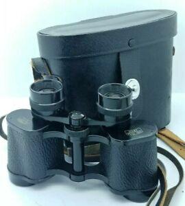 Vintage CARL ZEISS Jena DELTRINTEM 8x30 Binoculars w/case