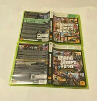 Grand Theft Auto V Liberty City Games Lot Bundle Xbox 360 CIB W/MAPS RACING