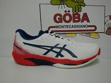ASICS SOLUTION SPEED FF 2 CLAY MEN - white/mako blue - 1041A187-101