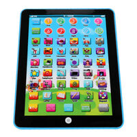 Kids Children TABLET PAD Educational Learning Toys Gift For Boys Girls Baby Blue
