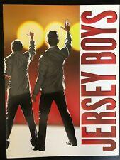 JERSEY BOYS Broadway Souvenir Program - John Lloyd Young, Daniel Reichard
