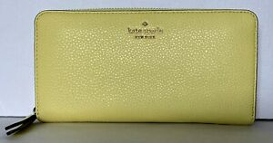 New Kate Spade New York Jackson Large Continental wallet Limelight