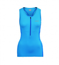 Zoot - Women's Performance Tri Tank - Maliblue Static - Extra Small