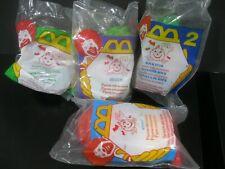 "Halloween  McNugget Buddies  ""Four Different"" NIP  McDonald's 1996"