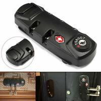 3 Digit Combinazione Lucchetto Bagagli Valigia Travel TSA Secure Code Lock