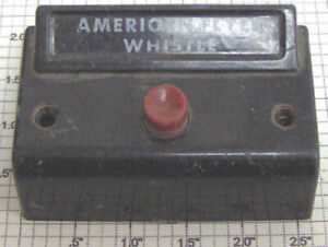 American Flyer XA10961-B S Scale Whistle Control Button