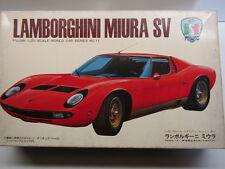 Fujimi Vintage 1/20 Scale Lamborghini Miura Model Kit - New & Rare Vintage Model