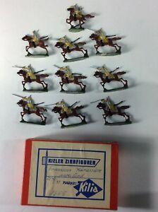 30MM ZINNFIGUREN 1870 FRANCO-PRUSSIAN WAR PRUSSIAN CAV. ORIGINAL BOX & PAINTING