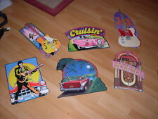 Oldies 1950's 60s birthday Party Poster lot Rock n Roll Over the Hill fifties