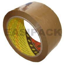 "144 rolls (4 Boxes) x 3M 'BUFF' Scotch packing 371 parcel 2"" tape 48mm x 66M"