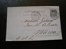 FRANCE carte entier 1889 (cy15) french