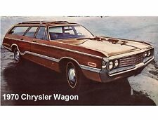 1970 Chrysler Wagon Auto Refrigerator / Tool Box  Magnet