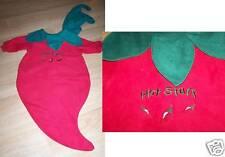 Infant Size 0-6 Months Hot Stuff Chili Pepper Halloween Costume Bunting EUC