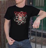 CANNIBAL CORPSE Men Black T-Shirt Death Metal Band Tee Shirt Sizes