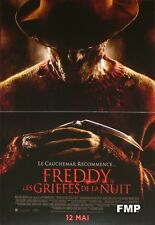 A NIGHTMARE ON ELM STREET - FREDDY KRUEGER - ORIGINAL SMALL FRENCH MOVIE POSTER
