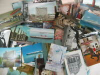 Lot Of 96 Vintage Postcards Various Places/Scenes From Around The World