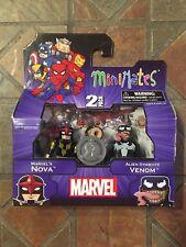 Marvel Minimates ALIEN SYMBIOTE VENOM & NOVA TRU WAVE 17 Spider-Man Avengers